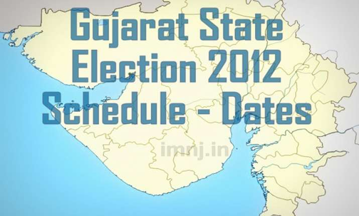 notification issued for second phase of gujarat polls