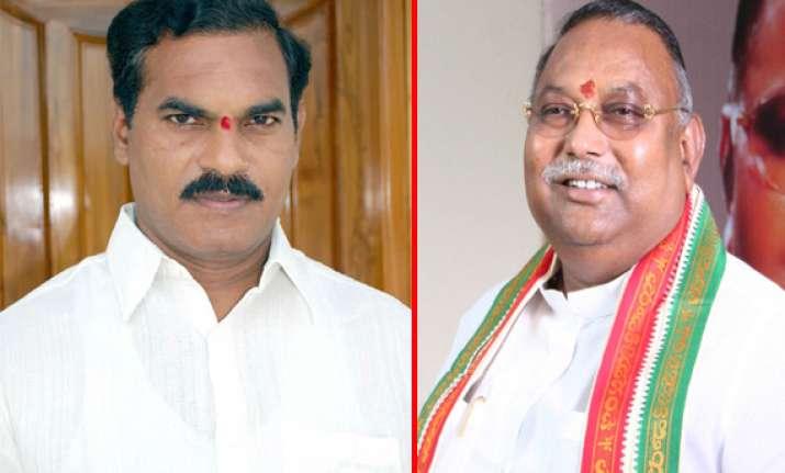 one mp three legislators from seemandhra resign