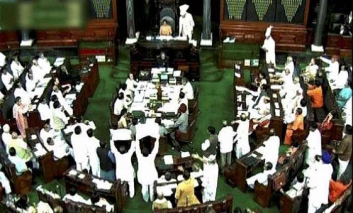 opposition creates ruckus in parliament