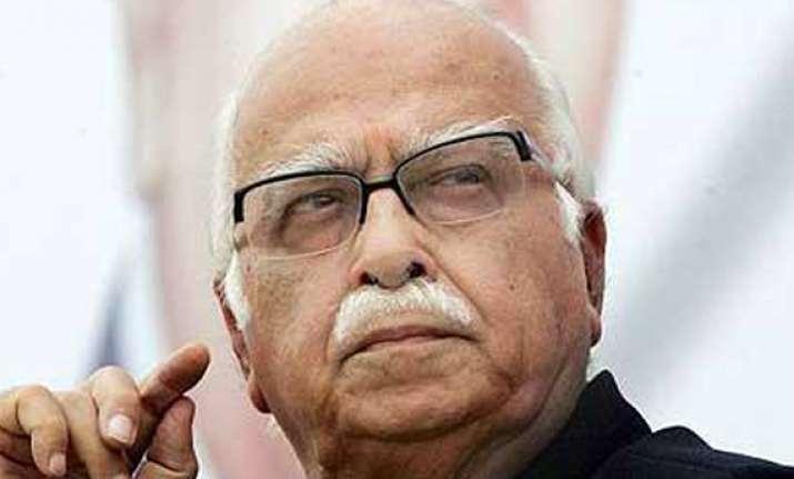 orissa bjp hurt over advani s silence on scams in naveen