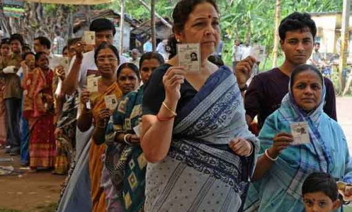 over 81 percent vote in bengal opposition seeks repoll
