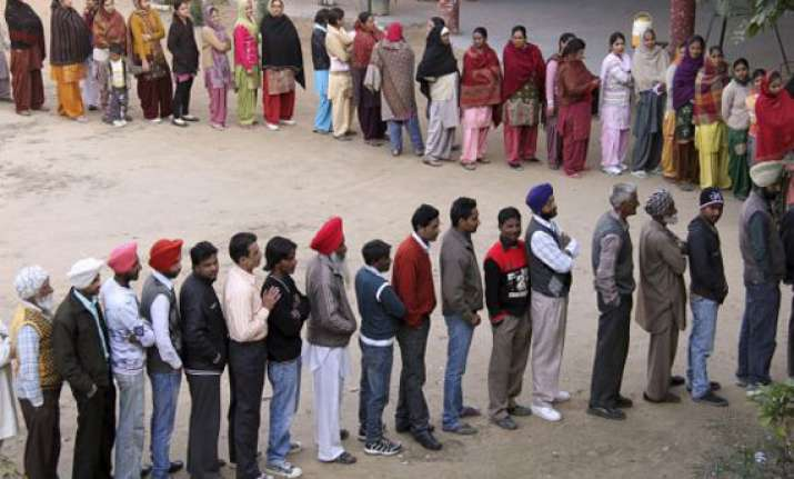 over 70 percent voting in punjab bypoll