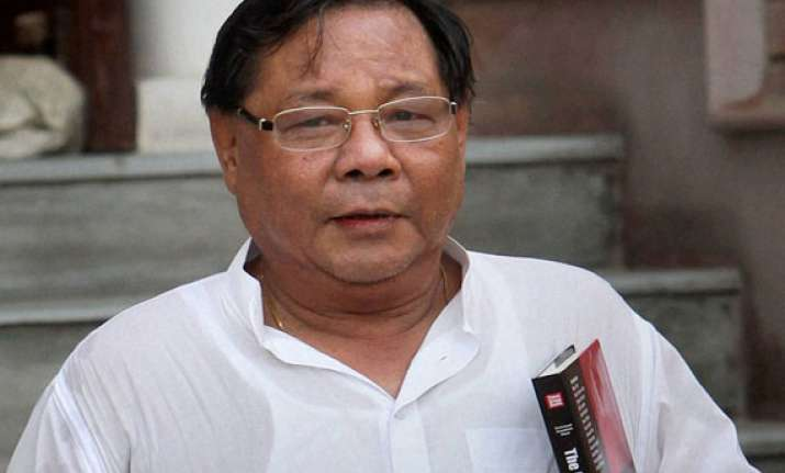 p a sangma to contest lok sabha polls from tura