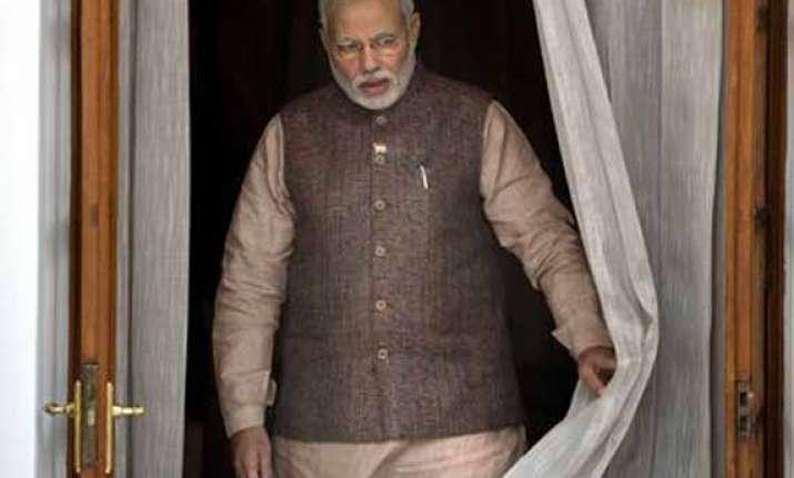 pm narendra modi finally moves into 7 rcr residence