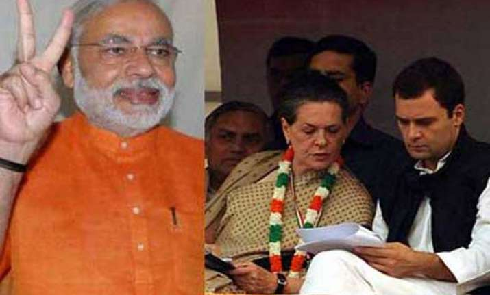 pm can t see anything because of mother son duo modi