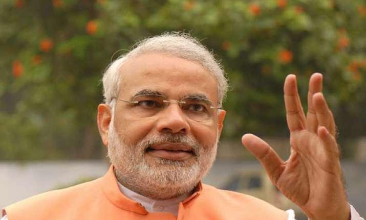 pm designate narendra modi mocks media about cabinet
