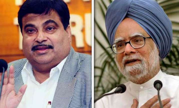 pm has failed to control prices check corruption gadkari