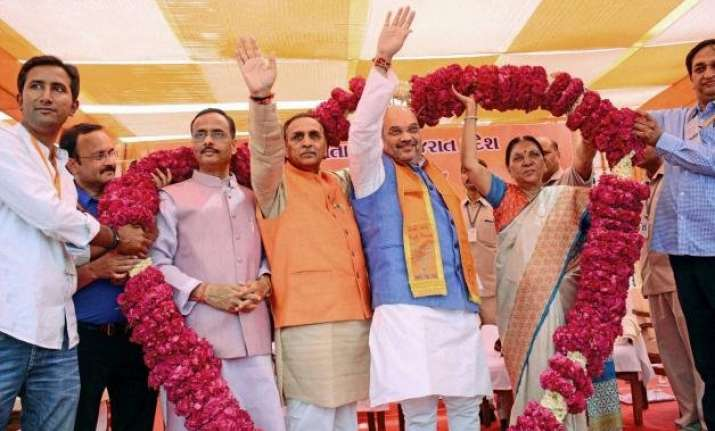 gujarat is bjp s fort party to win 2017 polls amit shah