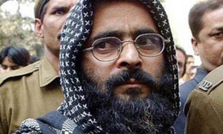 parliament attack hang afzal guru demands bjp