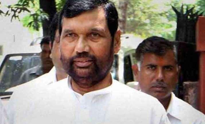 parties raising slogans of secularism anti minorities paswan