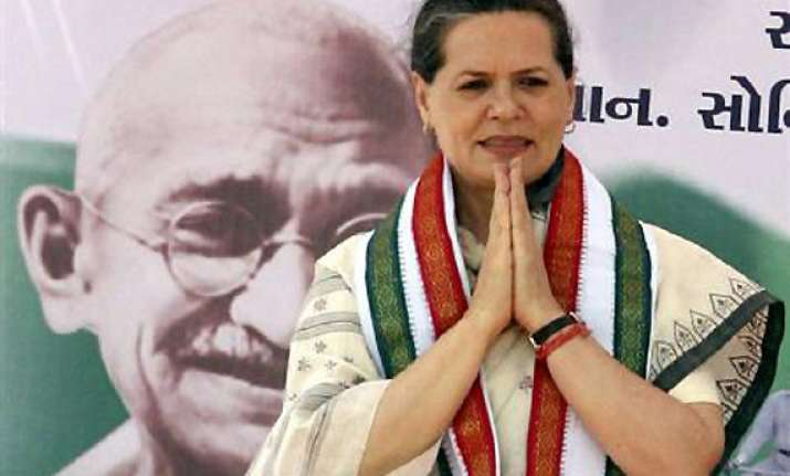 parties adopted policy of divide and rule in up says sonia