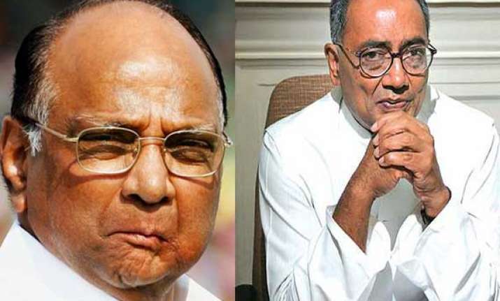 pawar digvijaya singh among 37 elected unopposed to rajya