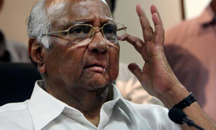 pawar criticises ec for going overboard