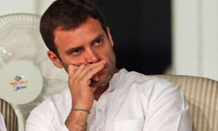 permission denied for rahul rally congress slams kolkata