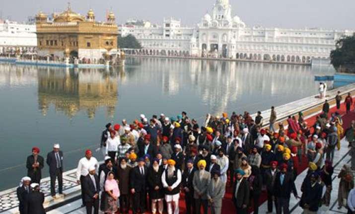 politics not religion brings world leaders to amritsar