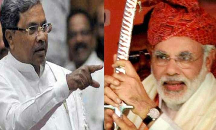 poll panel raps siddaramaiah for calling modi mass murderer
