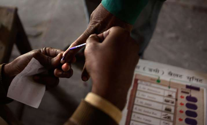 polling on for andhra assembly by poll