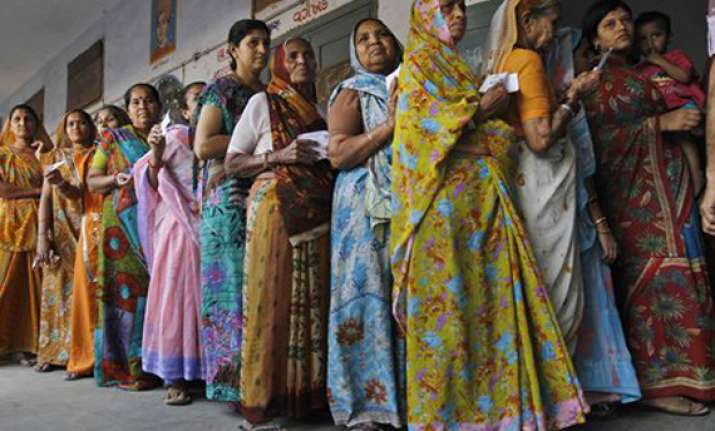 gujarat polls 70 per cent polling recorded in 2nd phase