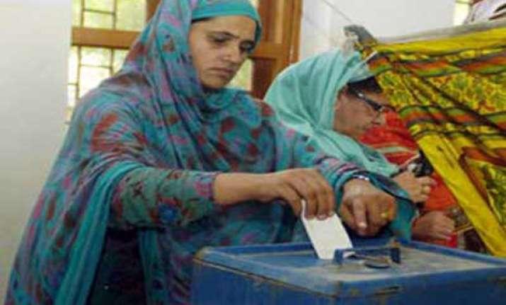 polling underway for legislative council seats in j k