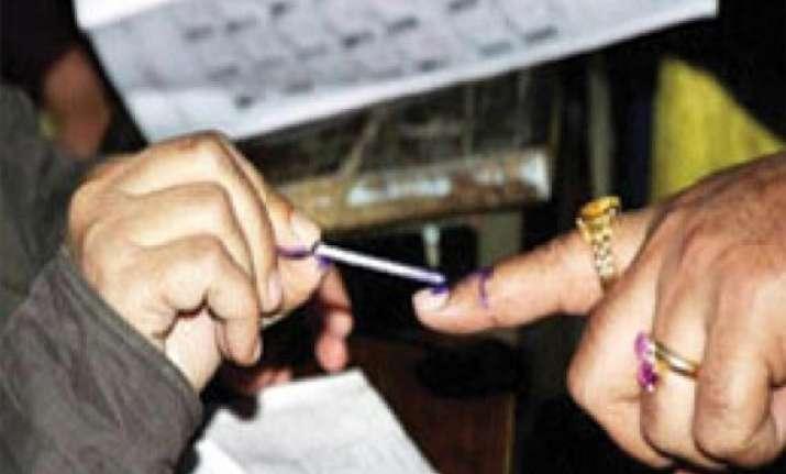 poor polling in gujarat bihar by elections brisk polling in