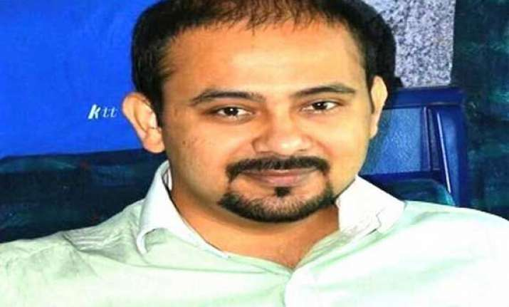 poster row aap leader dilip pandey sent to 14 days judicial
