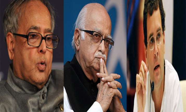 pranab not rahul saved situation in ordinance crisis advani