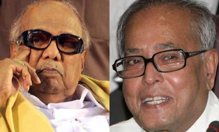 pranab mukherjee s victory a foregone conclusion says karuna