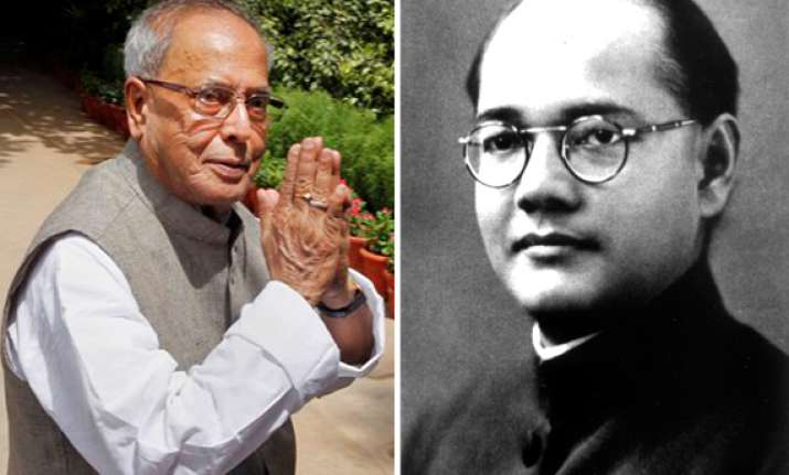pranab mukherjee behind cover up on netaji s air crash