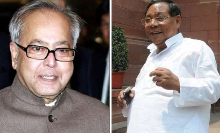 pranab mukherjee sangma to file nominations on thursday