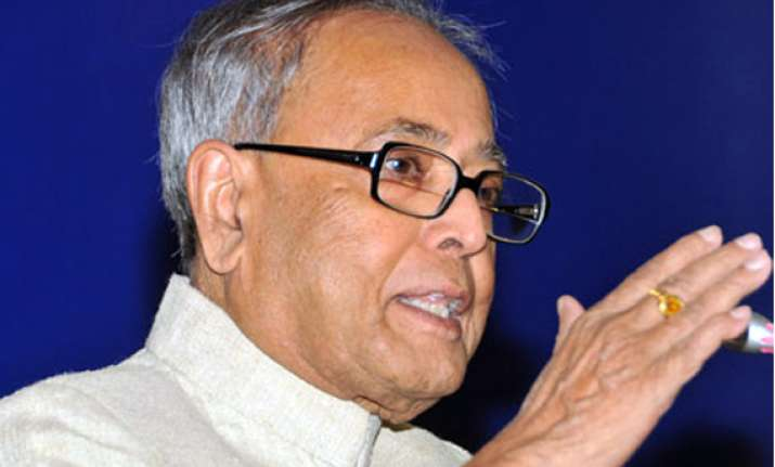 pranab to file four sets of nomination on thursday