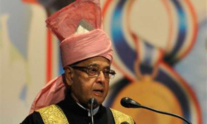 president concerned over disruptions in legislatures