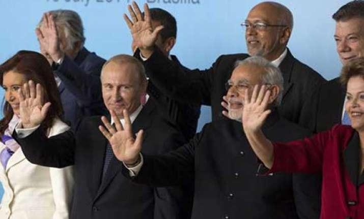 prime minister modi returns from brazil