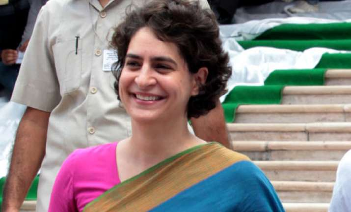 priyanka gandhi to campaign for rahul in amethi from april