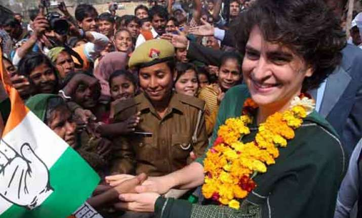 priyanka energises congress poll effort party workers want