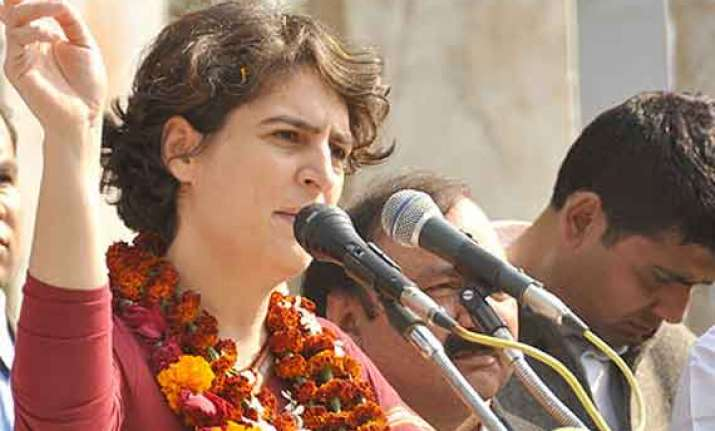 priyanka not to campaign against modi in varanasi