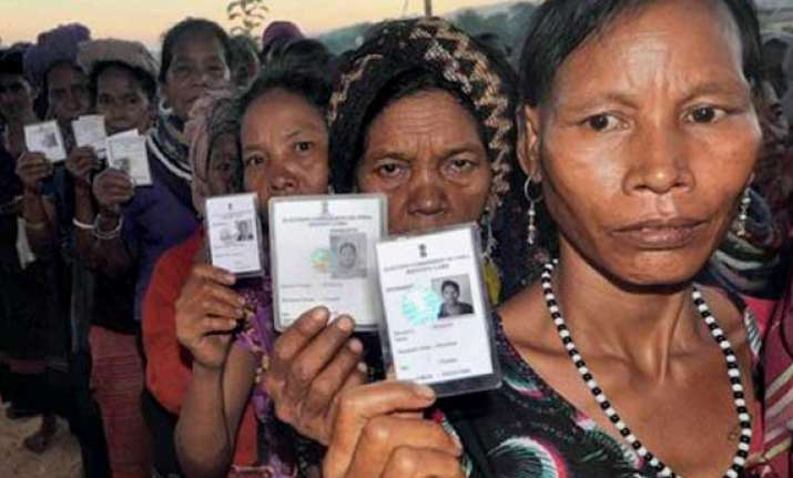 protests over tribal refugees voting in mizoram ls poll