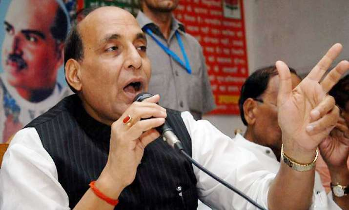 public support for congress is waning says rajnath