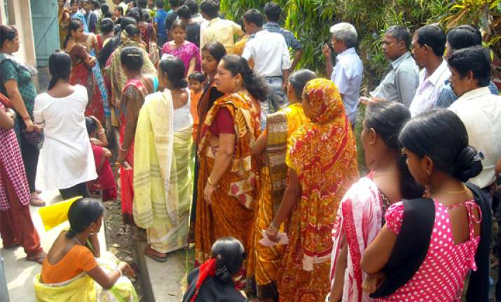 quarter of tripura voters cast ballot