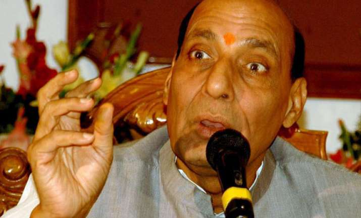 rss has nothing to do with advani s resignation rajnath