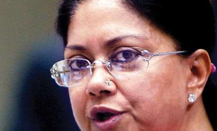 rss intervenes as critics flay vasundhara raje