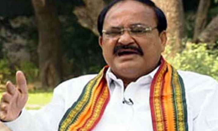 rss will have no role in cabinet formation venkaiah