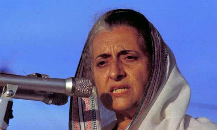 rss praises indira gandhi for tough stand against terror
