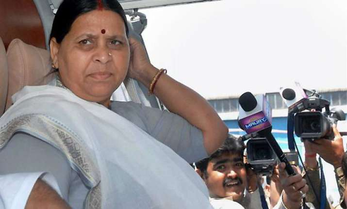 rabri devi to be rjd candidate for legislative council