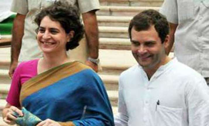 rahul gandhi priyanka in amethi on three day visit