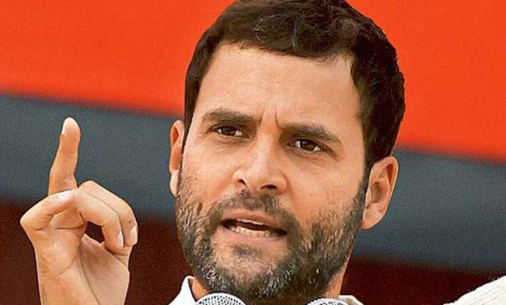 rahul gandhi attacks mamata government
