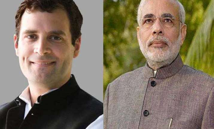 rahul gandhi hits back at modi with last day rally in