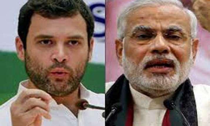 rahul gandhi counters narendra modi s attack says actions