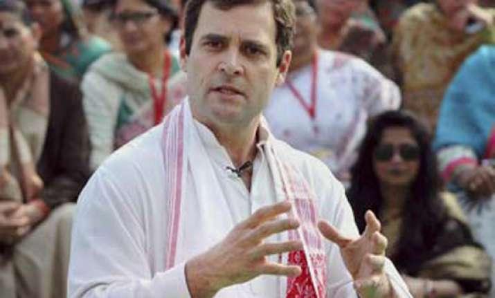 rahul gandhi denied domicile certificate from amethi