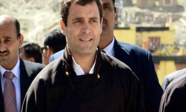 rahul gandhi holds talk with odisha congress leaders