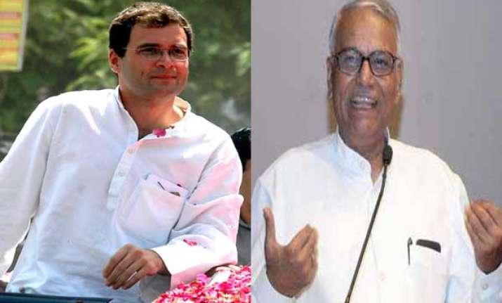 rahul gandhi is new superman of congress yashwant sinha